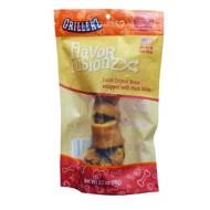 GrillerZ Flavor Fusionz Ham Skin Wrapped Lamb Trotter Dog Treat