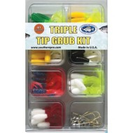 Southern Pro Triple Tip Grub Kit 81 Piece