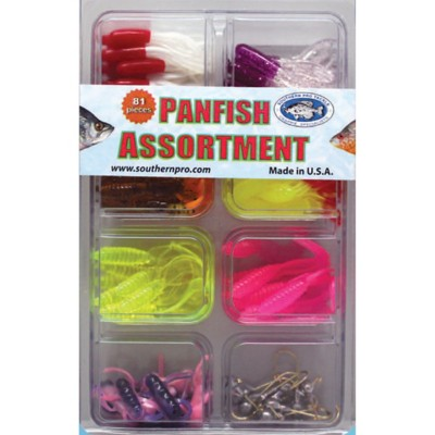 Southern Pro Panfish Assortment 81 Piece