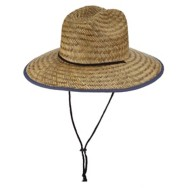 Men's Dorfman-Pacific Rush Straw Lifeguard **Assorted Colors Only**