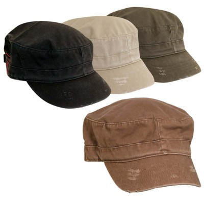 Women's Dorfman-Pacific Washed Twill Assorted Cadet Hat **Assorted Colors Only**