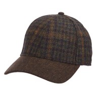 Men's Stetson Plaid Baseball Cap