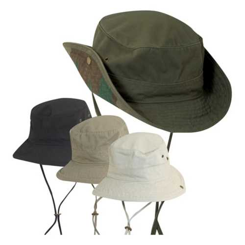 Dorfman-Pacific  Rip Camo Underbrim Hat **ASSORTED COLORS ONLY**