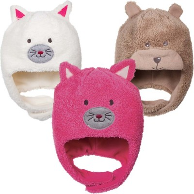 Youth Scala Plush Animal Beanie **Assorted Colors Only**