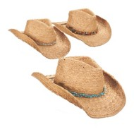 Women's Cappelli Straw Cowyboy Hat **Assorted Colors Only**
