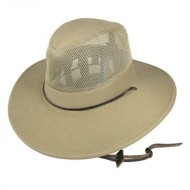 Men's Dorfman Mesh Crown Aussie Hat