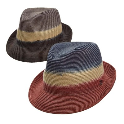Women's Callanan Paperbraid Dip Dyed Fedora **Assorted Colors Only**