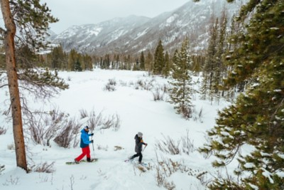Snow Boots and Winter Activity
