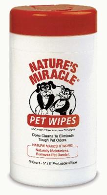 Nature's Miracle Pet Wipes' data-lgimg='{