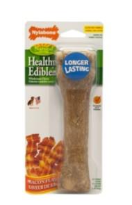Nylabone Healthy Edibles Bacon Dog Treat