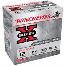 Winchester Ammo 12ga 2.75in Supr-X 3.75d 1.25oz #6