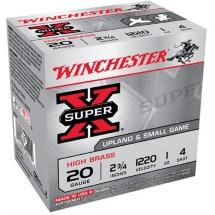 Winchester Ammo 20ga 2.75in Supr-X 2.75d 1oz #4