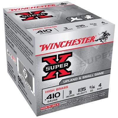 Winchester Ammo 410ga 3in Supr-X MAXd 11/16oz #4
