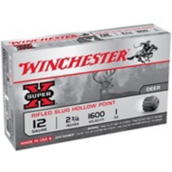 """Winchester Super-X Slug 12ga 2.75"""" 1 oz. 5/bx"""