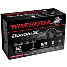 "Winchester Double X Turkey 12ga 3"" 2oz #4 10/bx"