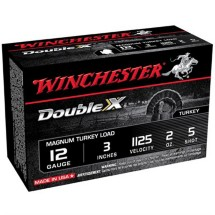 "Winchester Double X Turkey Load 12ga 3"" 2 oz. #5 10/bx"