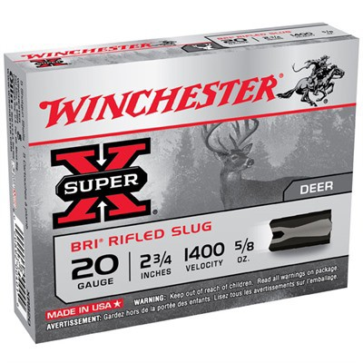 Winchester Super-X BRI Slug 20ga 2.75