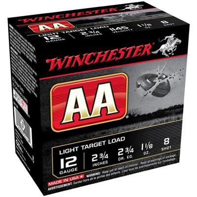 Winchester AA Light Target 12 Gauge Shotshells' data-lgimg='{