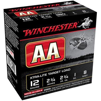 Winchester AA Xtra-Lite 12ga 1oz #8