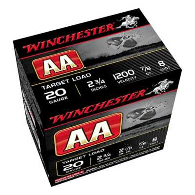 Winchester AA 20 Gauge Target Load