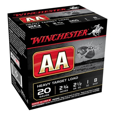 Winchester AA 20ga 1oz Heavy #8