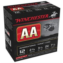"Winchester AA International Target Load 12ga 2.75"" 24gm #7.5"