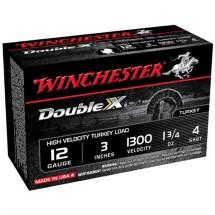 "Winchester Double X Turkey 12ga 3"" 1-3/4oz #4 10/bx"