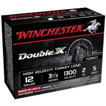 "Winchester Double X Turkey 12ga 3.5"" 2oz #5 10/bx"
