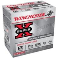 """Winchester Super-X Heavy Game Load 12ga 2.75"""" 1-1/8oz #7.5"""