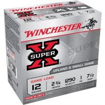 "Winchester Super-X Game Load 12ga 2.75"" 1 oz. #7.5 25/bx"