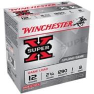 "Winchester Super-X Game Load 12ga 2.75"" 1 oz. #8 25/bx"