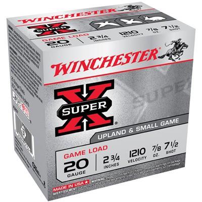 Winchester Super-X Game Load 20ga 2.75