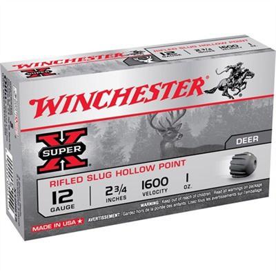 Winchester Ammo 12ga. 2 3/4in 1oz SX Rifled Slug 1' data-lgimg='{