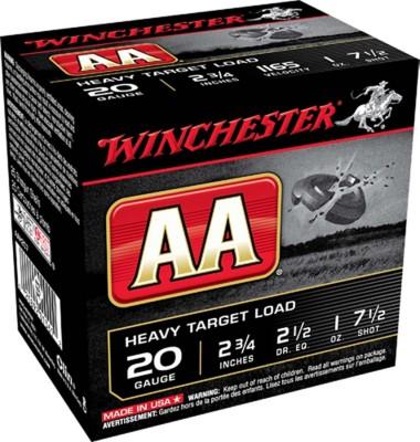 Winchester AA Target Load 20 Gauge 7.5 Shot 1 oz Shotshell Case
