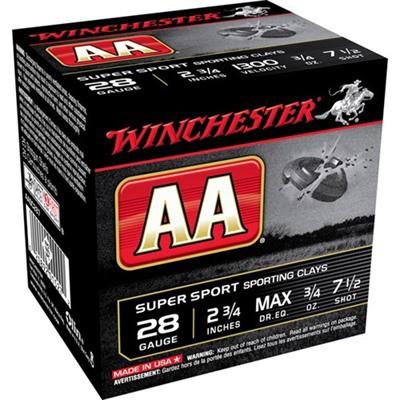 Winchester Shells 28ga 2 3/4in 3/4oz #7.5