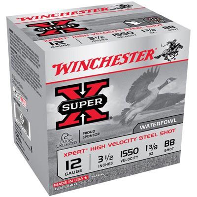 "Winchester Xpert HV Steel 12ga 3.5"" 1-3/8 oz. #BB 25/bx"