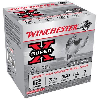 "Winchester Xpert HV 12ga 3.5"" 1-3/8 oz. #2 25/bx"