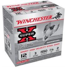 "Winchester Xpert HV Steel 12ga 3"" 1-1/8 oz. #2 25/bx"