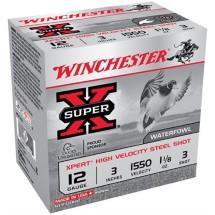 "Winchester Xpert HV Steel 12ga 3"" 1-1/8 oz. #3 25/bx"