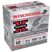Winchester Ammo 12ga 2.75in Super X 3.75dr 1.1/16 #BB