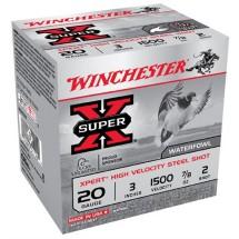 "Winchester Xpert HV 20ga 3"" 7/8oz #2 25/bx"