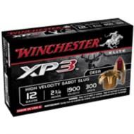 "Winchester XP3 Sabot Slug 12ga 2.75"" 300gr 5/bx"