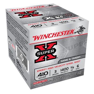 Winchester Ammo 410ga 3in 3/8oz Xpert Steel' data-lgimg='{