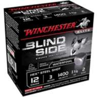 "Winchester Ammo Blind Side 12ga 3"" #2 1-3/8oz 25/bx"