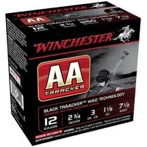 "Winchester AA Traacker 12ga 2.75"" #7.5 1-1/8oz 25/bx"
