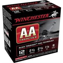 "Winchester AA Traacker 12ga 2.75"" #8 1-1/8oz 25/bx"