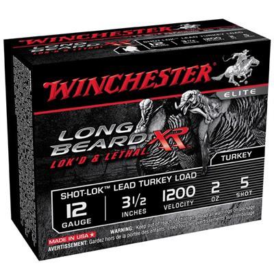 """Winchester Long Beard XR 12ga 3-1/2"""" 2oz #5 10/bx"""