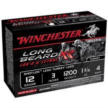 """Winchester Long Beard XR 12ga 3"""" 1-3/4oz #4 10/bx"""