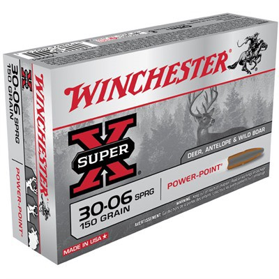 Winchester Ammo 30-06 Super-X 150gr PP