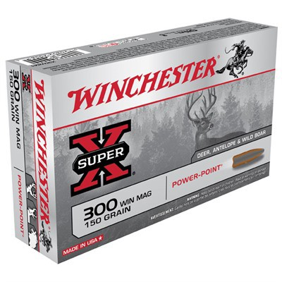 Winchester Ammo 300 Winchester Super-X 150gr PP